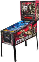 The Walking Dead Professional Edition Pinball Machine From Stern