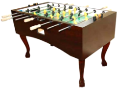 Tornado Madison Foosball Table TTXMA - Non Coin Home Model From Valley Dynamo