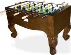 Tornado Scottsdale Foosball Table TXXSC - Non Coin Home Model From Valley Dynamo