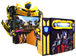 "Transformers : Human Alliance Super Deluxe / SDX 80"" Model Video Arcade Game"