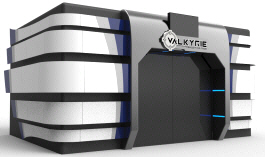 VALKYRIE 4D Motion Simulator Theater Attraction Ride | Simuline