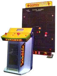 World's Largest Pac-Man and Friends Video Arcade Game