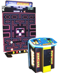 World's Largest Pac Man Video Arcade Game From Namco and Raw Thrills