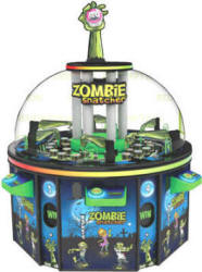 Zombie Snatcher Arcade Rotary Prize Redemption Game | Toccata Gaming