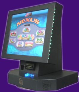 Nexus Countertop Touchscreen Video Arcade Bar System From Coastal Amuts