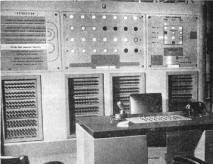 NIMROD Computer Control Panel - Circa 1951