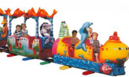 Ocean Train Kiddie Ride - 26164 | Falgas