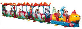 Ocean Train Kiddy Train Ride Pic 2