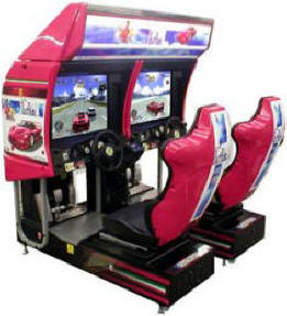 Outrun 2 Twin Video Arcade Game By SEGA