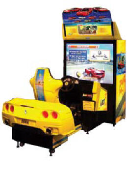 Outrun 2 SP Special Deluxe Special Tours Video Arcade Game By SEGA