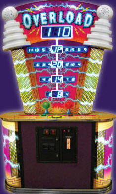 Overload Ticket Remdemption Game From Coastal Amusements