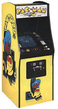 Pac Man Video Arcade Game - Original Upright Cabinet Model -  1981 - Midway - Namco