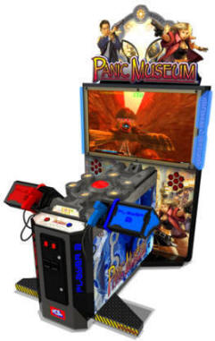 Panic Museum Deluxe Model Video Arcade Game From ICE Games