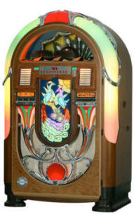 Wurlitzer Peacock Vintage Model 850 CD Jukebox By Wurlitzer Jukeboxes