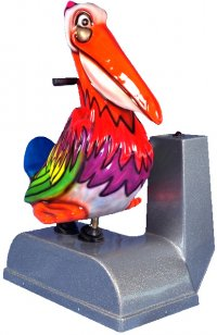 Pelican Fish Kiddie Ride - 5104  |  From Falgas Amusement Rides