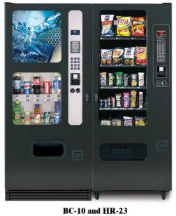 BC10/HR23 Vending Machine By Perfect Break Systems / PBS / U Select It / USI From BMI Gaming