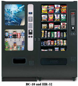 BC10/HR32 Vending Machine By Perfect Break Systems / PBS / U Select It / USI From BMI Gaming