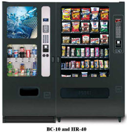 BC10/HR40 Vending Machine By Perfect Break Systems / PBS / U Select It / USI From BMI Gaming