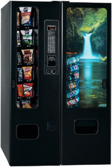 BC6/GF12 Vending Machine By Perfect Break Systems / PBS / U Select It / USI From BMI Gaming