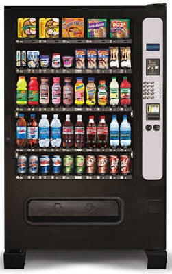 Chill Center Combo Vending Machine By Perfect Break Systems / PBS / U Select It / USI