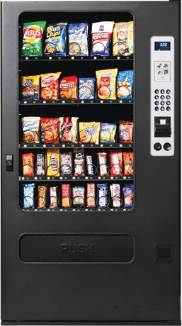 GF35 / GF-35 Snack Vending Machine By Perfect Break Systems / PBS / U Select It / USI