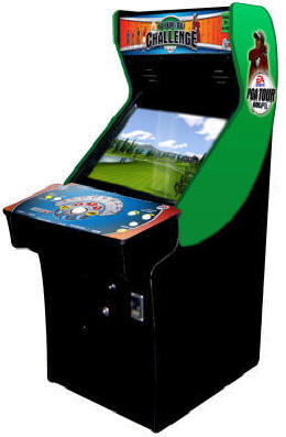 PGA Tour Golf Challenge Home Edition Video Arcade Game From Global VR and EA Sports