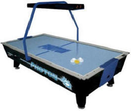 Photon Coin Operated Air Hockey Table From Valley Dynamo