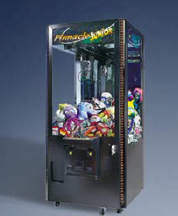 Pinnacle Crane Jr Prize / Claw / Crane Redemption Game From ICE / Innovative Concepts In Entertainment