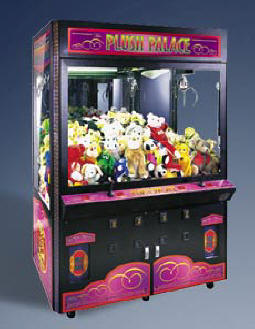 Plush Palace Crane Prize / Claw / Crane Redemption Game From ICE / Innovative Concepts In Entertainment