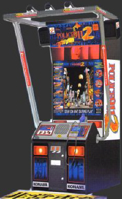 Police 911 2 Version II Video Arcade Game By Konami Coin Operated