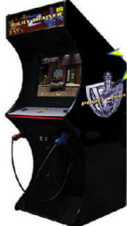 Police Trainer 2 Video Arcade Game | From BMI Gaming - 1-800-746-2255