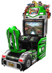 Power Truck Video Arcade Truck Racing Game From Wahlap Technology