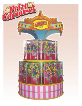 Prize Carousel Prize Redemption Vending Machine Prize Redemption Game |  By Namco Bandai America