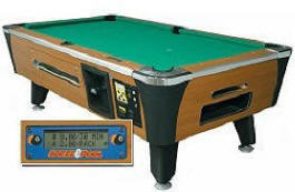 Pro Plus Pool Table Coin Operated / Dollar Bill Acceptor From Dynamo