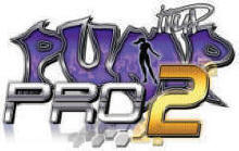 Pump it Up PRO 2 Video Arcade Dance Game Software Update Logo From Andamiro