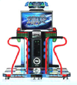 "Pump It Up PRO FX Dance Floor Video Arcade Exer Fitness Game - 42"" Plasma Screen Model From Andamiro Entertainment"