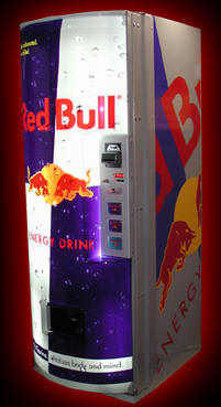Red Bull Vending Machine From BMI Gaming
