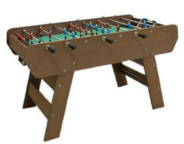 Rene Pierre Mistral Weatherproof Outdoor Foosball Table | 100% Recycled Materials