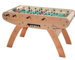 Zinc Foosball Table From Rene Pierre