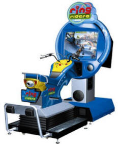 Ring Riders Video Arcade Game By Namco