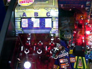 Ripley's Believe It or Not Pinball Machine - Top Left Playfield Picture From BMI Gaming - 1-800-746-2255