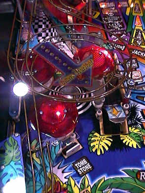 Ripley's Believe It or Not Pinball Machine - Mid Left Playfield Picture From BMI Gaming - 1-800-746-2255