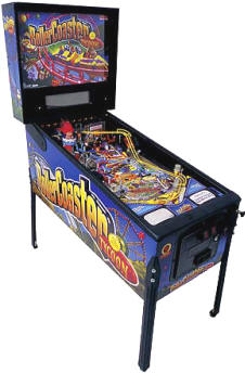 Brand New RollerCoaster Tycoon Pinball Machine By Stern From BMI Gaming!