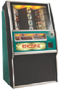 Encore Jukebox By Rowe From BMI Gaming: 1-800-746-2255