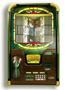 LaserStar Berkley CD Jukebox By Rowe  | From BMI Gaming : Global Supplier Of Arcade Games, Arcade Machines and Amusements: 1-866-527-1362