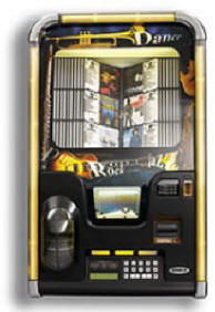 Laser Star Symphony CD Wall Mount Jukebox By Rowe  | From BMI Gaming : Global Supplier Of Arcade Games, Arcade Machines and Amusements: 1-866-527-1362