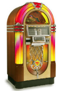 LaserStar Nostalgia CD Jukebox By Rowe  | From BMI Gaming : Global Supplier Of Arcade Games, Arcade Machines and Amusements: 1-866-527-1362
