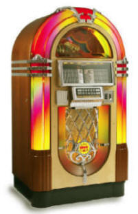 LaserStar Home Nostalgia CD Jukebox By Rowe  | From BMI Gaming : Global Supplier Of Arcade Games, Arcade Machines and Amusements: 1-866-527-1362