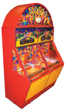 Salsa 2 Player Coin Token Pusher Game From Coastal Amusements