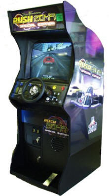 Discontinued Upright Video Arcade Games - Reference Page S-S | From